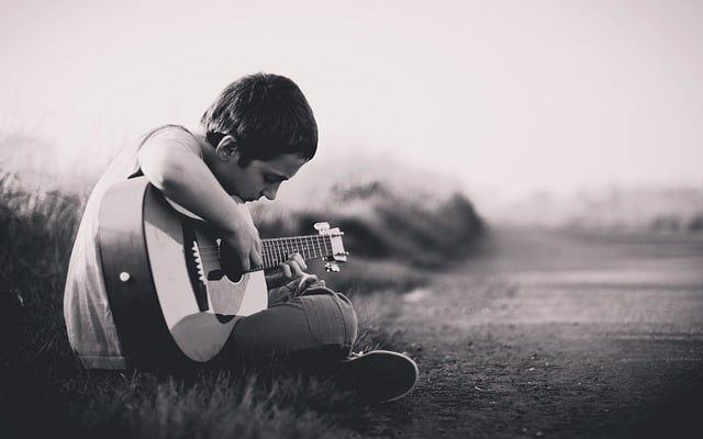 ギター少年が上手くなるまでの練習法